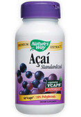 Acai Standardized 60 vCaps, Nature's Way