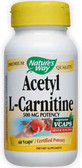 Acetyl L-Carnitine 60 vCaps, Nature's Way, Brain Health