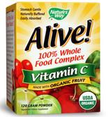 Alive! Organic Vitamin C Powder 120 g, Nature's Way