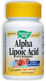 Alpha Lipoic Acid 60 Caps, Nature's Way