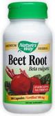 Beet Root European 500mg 100 Caps, Nature's Way