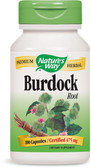 Burdock Root 100 Caps, Nature's Way, Cleansing, UK Shop