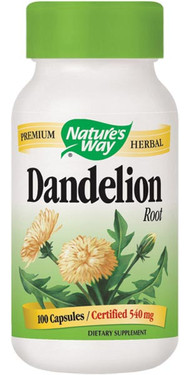 Dandelion Root 100 Caps, Nature's Way, UK Shop