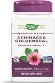 Echinacea Goldenseal Root Combo 450mg 180 Caps, Nature's Way, UK Shop