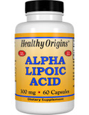 Healthy Origins Alpha Lipoic Acid 300 mg 60 Caps, UK