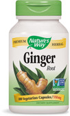 UK Buy Ginger Root, 100 Caps, Nature's Way, Digestive