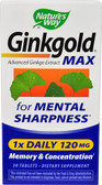 Ginkgold Max 120mg 30 Tabs, Nature's Way, UK Shop