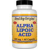 Healthy Origins Alpha Lipoic Acid 600 mg 60 Caps