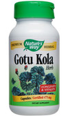 Gotu Kola 100 Caps, Nature's Way, Brain