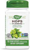 Hops Flowers 100 Caps, Nature's Way, Relaxation