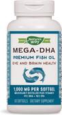UK Buy Mega DHA 60 Softgels, Nature's Way