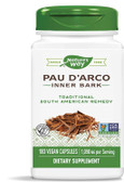 Pau D'Arco 180 Caps Nature's Way, Immune Support - UK Supplements