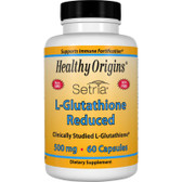 Healthy Origins L-Glutathione 500 mg 60 Caps, UK Store