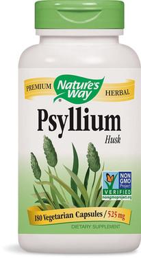 Psyllium Husks 180 VCaps, Nature's Way , UK Store
