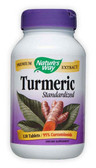 Turmeric Standardized Extract 120 Tabs, Nature's Way, Antioxidant