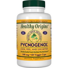 Healthy Origins Pycnogenol 100 mg 60 vCaps, UK Store
