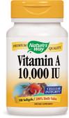 Vitamin A 10000 IU 100 Softgels, Nature's Way, Vision