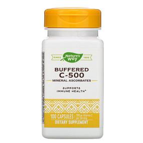 UK Buy Vitamin C 500 Ascorbate Buffered, 100 Caps, Nature's Way