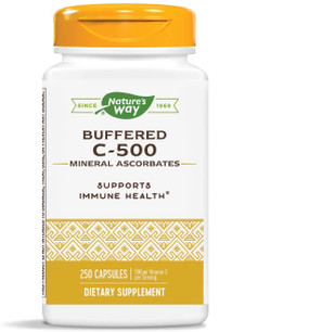 UK Buy Vitamin C 500 Ascorbate Buffered, 250 Caps, Nature's Way