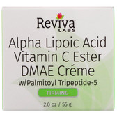 Buy Alpha Lipoic Acid, Vitamin C Ester & DMAE Cream 2 oz, Reviva, UK Shop