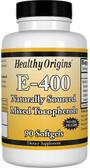 Healthy Origins Vitamin E 400 IU 90 Caps, UK