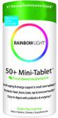 50+ Mini Tab Multivitamin 90 Tabs, Rainbow Light, UK Shop