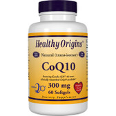 Healthy Origins CoQ10 300 mg 60 Softgels, Antioxidant, Cardiovascular