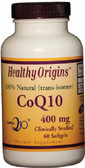 Healthy Origins CoQ10 400 mg 60 Softgels