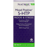 Mood Positive 5HTP 50 Tabs, Natrol, Stress, UK Store