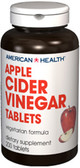 Apple Cider Vinegar 300mg 200 Tabs, American Health