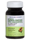 Papaya Enzyme w/Chlorophyll Chewable 100 Tabs, American Health, UK, Digestion