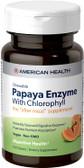 Papaya Enzyme w/Chlorophyll Chewable 100 Tabs, American Health, UK, Digestion