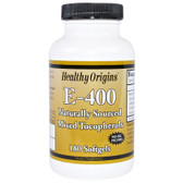 Healthy Origins Vitamin E 400IU 180 Caps, UK Store