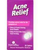 Acne Relief 60 Tabs, Natra-Bio