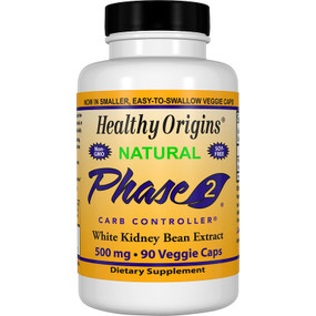 Healthy Origins Phase 2 Carb Controller 500 mg 90 Caps, UK Store