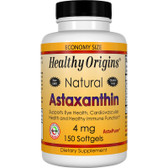 Healthy Origins, Astaxanthin 4mg 150 Softgels, UK Shop