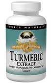 Turmeric Extract 1000 mg 60 Tabs, Source Naturals, Inflammation