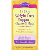 15-Day Weight Loss  Cleanse & Flush 60 Tabs, Nature's Secret, UK Shop