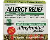 Allergiemittel AllerAide Blister Pak 40 Tabs, Boericke & Tafel