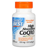 UK Buy Doctor's Best High Absorption CoQ10, 100 mg 120 Softgels