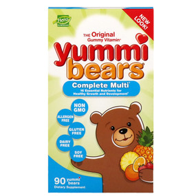 Buy UK Multi-Vitamin & Mineral 90 Gummies, Yummi Bears