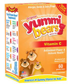 Vitamin C Supplement 60 Gummies, Yummi Bears