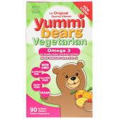 Omega 3-6-9 Plant Based 90 Gummies Yummi Bears