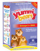 DHA 90 Gummies, Yummi Bears