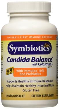Colostrum Plus with BIO-Lipid Candida 120 Caps Symbiotics, UK Supplements