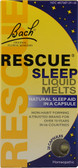 Rescue Sleep Liquid Melts 28 Caps, Bach Flower