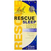 Rescue Sleep Liquid Melts 28 Caps, Bach Flower