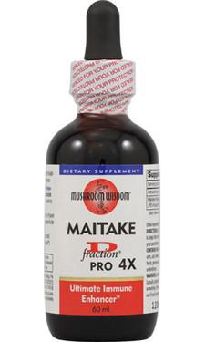 Maitake D-Fraction Pro 4X 2 oz Mushroom Wisdom, Immune Support, UK Supplements
