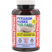 UK Buy Psyllium Husks, 180 Caps, Yerba Prima, Digestive