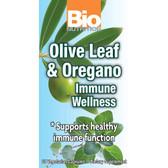 Immune Wellness (Olive & Oregano) 60 Veggie Caps, Bio Nutrition, UK Supplements